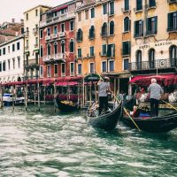 Venice, Plum and a 50th Wedding Anniversary